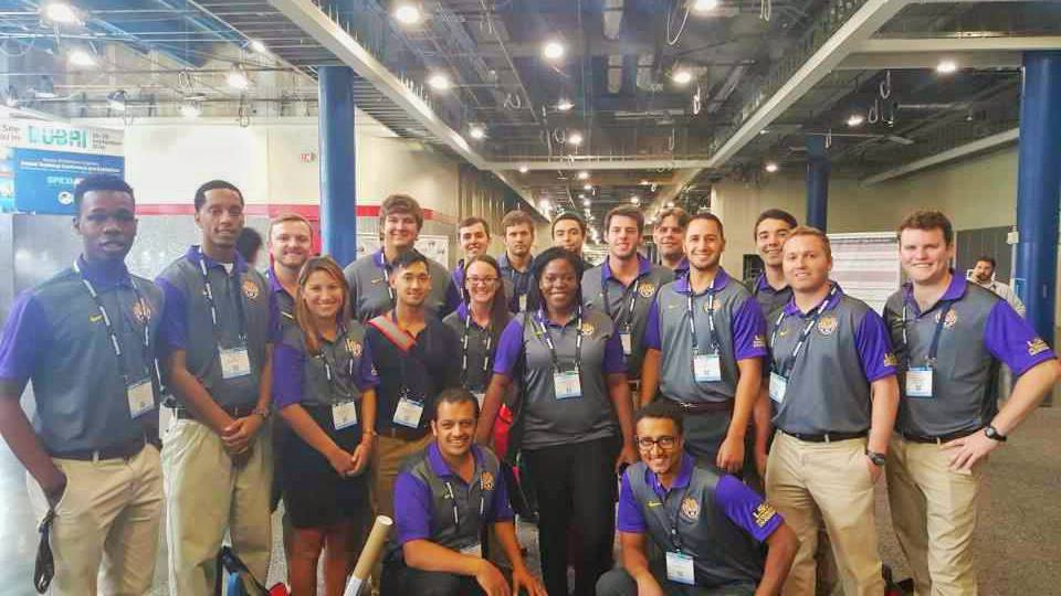 LSU SPE students attend ATCE 2015 in Houston